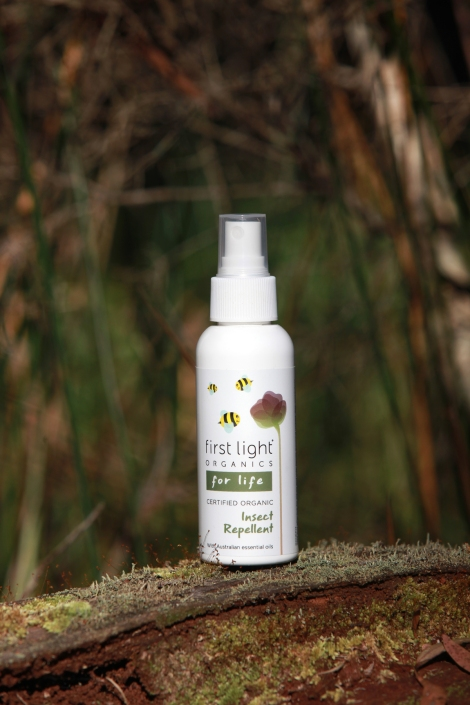 Certified Organic insect repellent